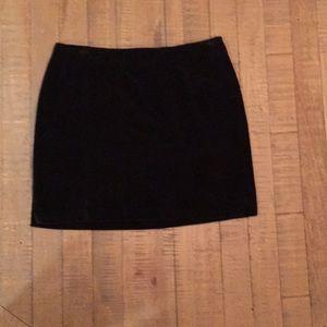 Ralph Lauren velvet mini skirt